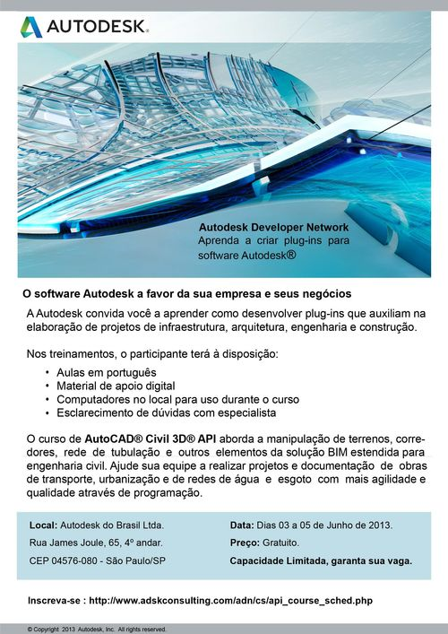 Curso Civil 3D API